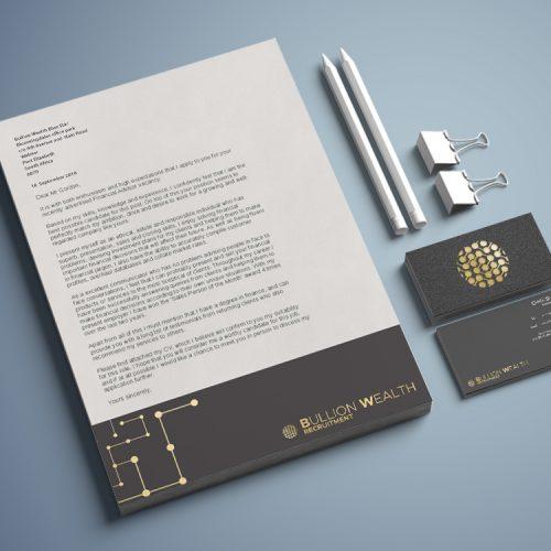 BWR - Letter, bc, pencils